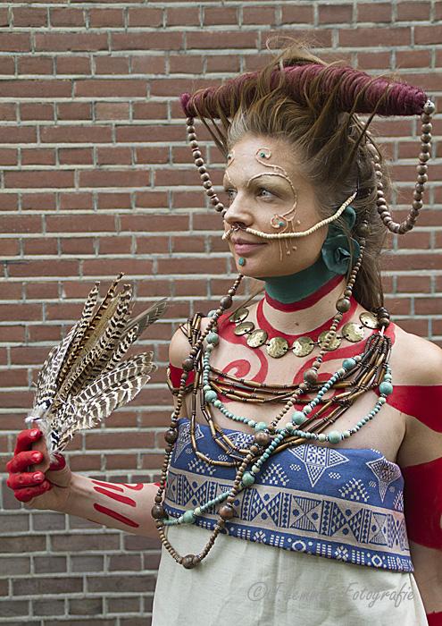 Fjälla Mayan warrior
