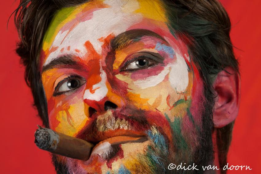 Fjälla Portrait Painting